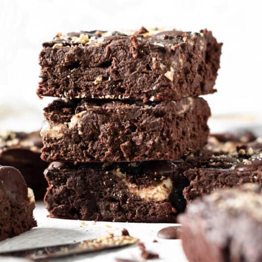 Healthy Cheesecake Brownies