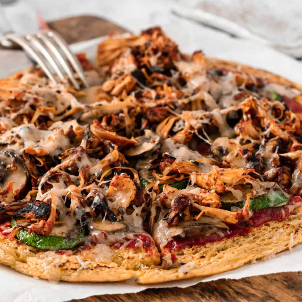 High Protein Pizza Base