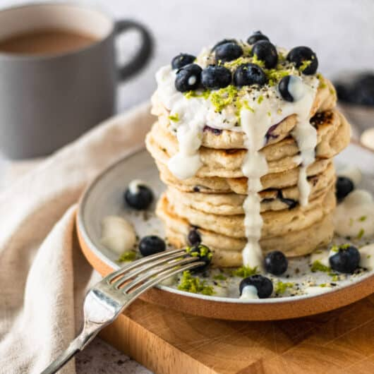 Lime and Coconut Pancakes