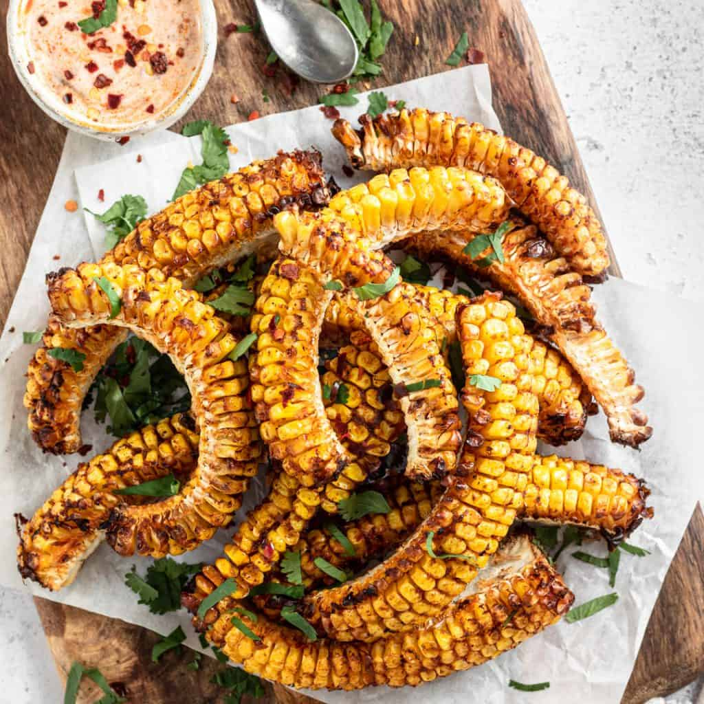 Spicy Corn Ribs