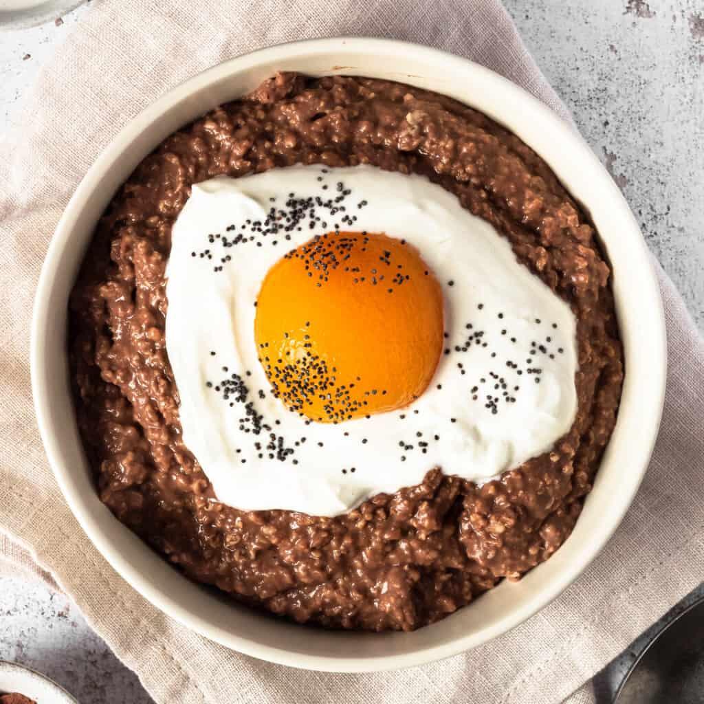 Fried Egg Porridge Bowl