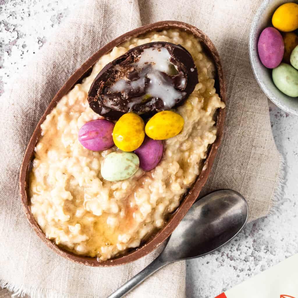 Easter egg Porridge